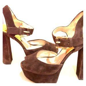 Micheal Kors platform heels